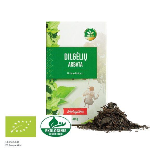 Ekologiška dilgėlių arbata