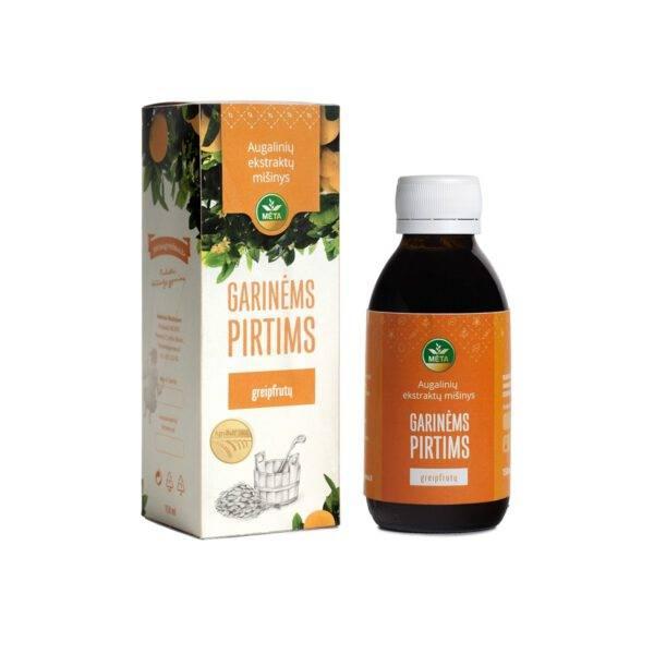 Augalinių ekstraktų mišinys GARINĖMS PIRTIMS greipfrutų