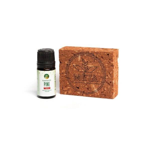 Molinis aromaterapinis difuzorius ir pušų eterinis aliejus