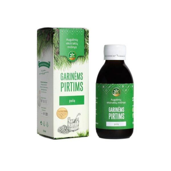 Augalinių ekstraktų mišinys GARINĖMS PIRTIMS pušų